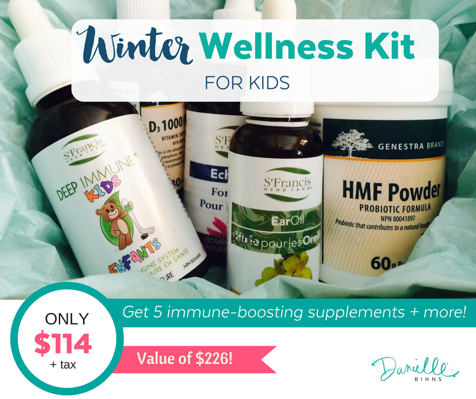 Winter Immune-boosting supplements for kids
