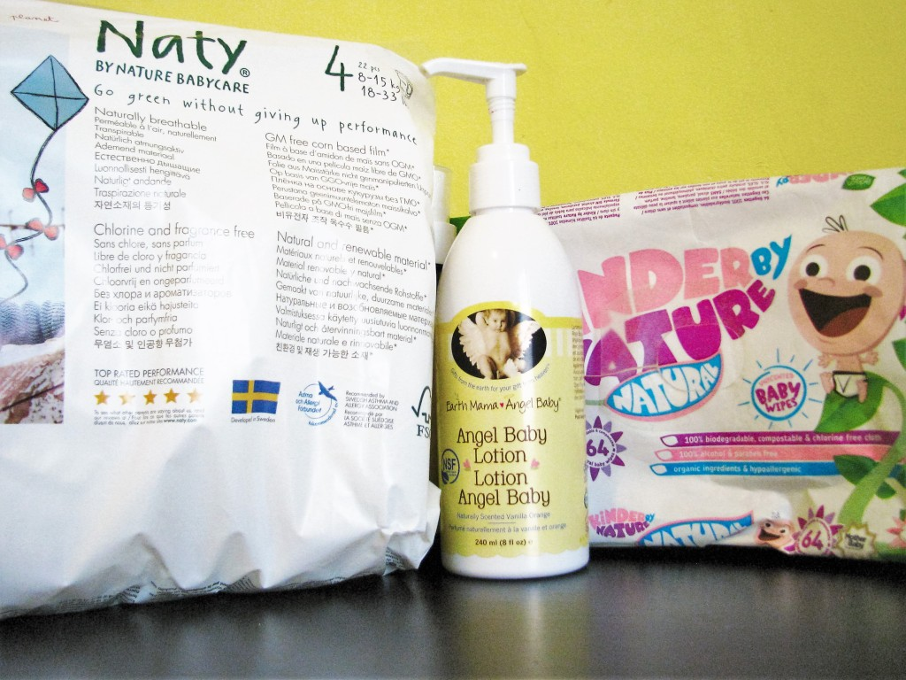 Green baby products