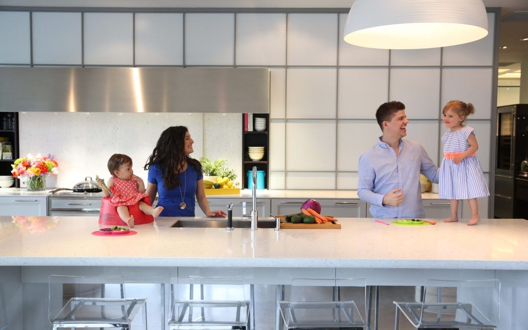 Beautiful chaos of mealtimes (and family photos)