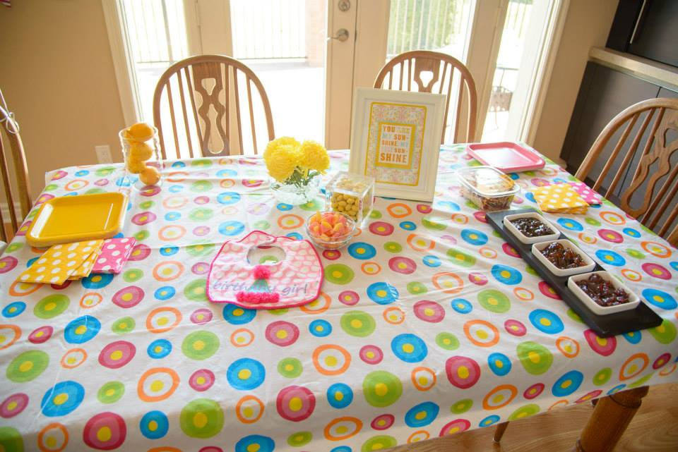 Sienna's first birthday party - theme