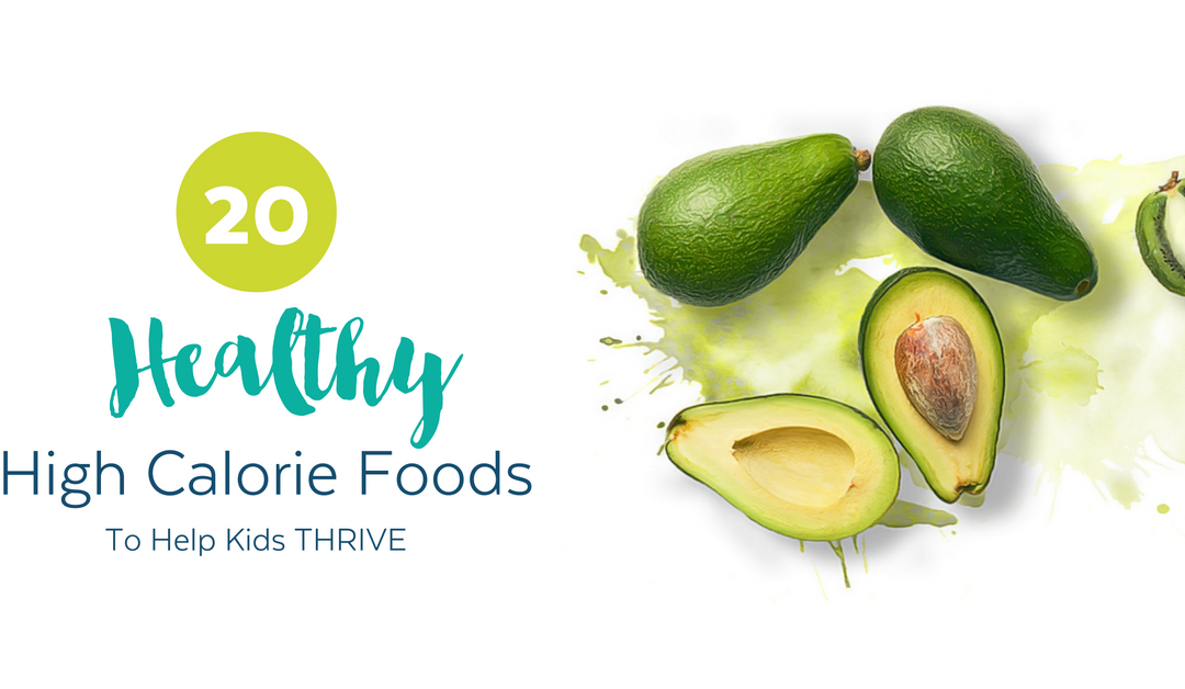 20 High Calorie Foods for Kids (pssst…they're healthy too!)
