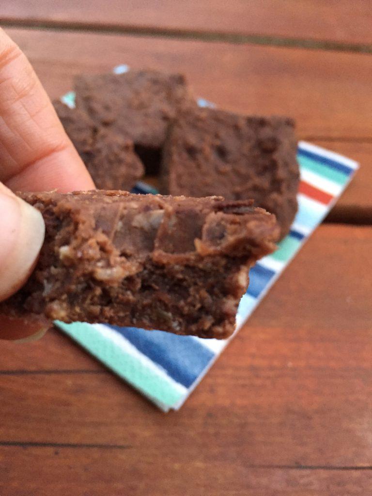 Healthy snacks - brownies