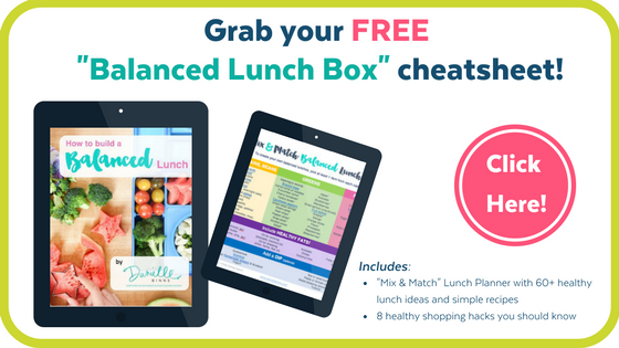 Healthy lunch box kids