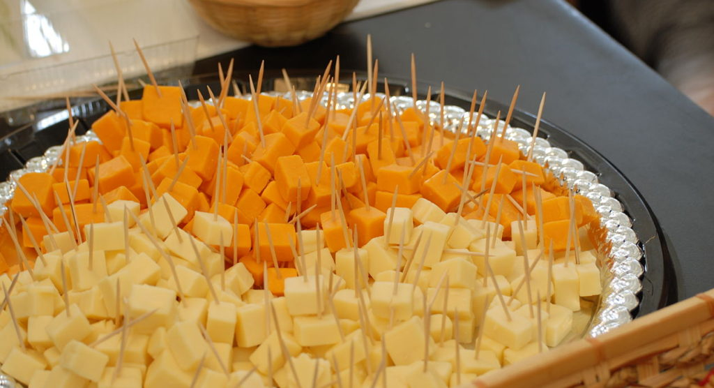 cheddar cheese orange