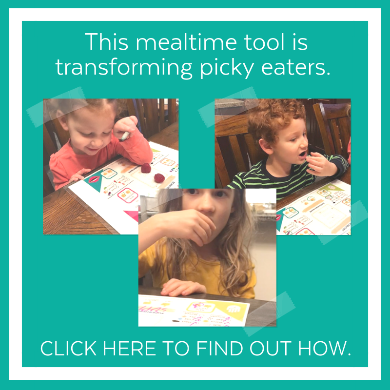 placemat for picky eaters