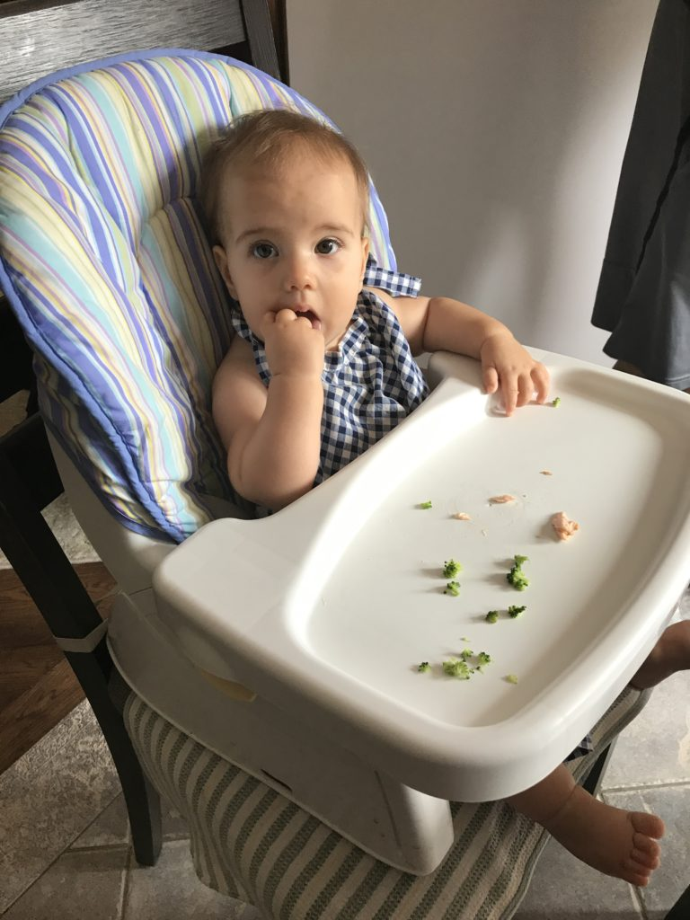 starting solids baby led weaning